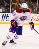 P K Subban Montreal Canadiens Foto de Stock