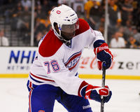 P k Subban Montreal Canadiens Fotografia Stock