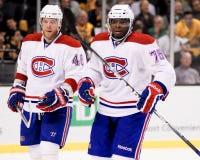P K Subban Montreal Canadiens Imagens de Stock