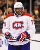 P K Subban Montreal Canadiens Imagem de Stock
