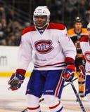 P K Subban Montreal Canadiens Lizenzfreies Stockfoto