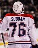 P K Subban Montreal Canadiens Stock Foto