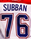 P K Subban Montreal Canadiens Royalty-vrije Stock Afbeeldingen