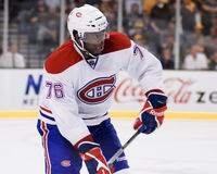 P.K. Subban Montreal Canadiens Royalty Free Stock Photography