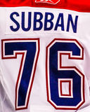 P.K. Subban Montreal Canadiens Royalty Free Stock Images