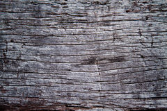 pęka starego drewno Zdjęcia Royalty Free
