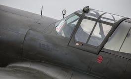 P-40 kokpit obraz stock