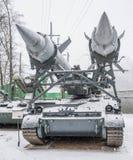 2P24- lanciatore per i missili di lancio 3M8 2K11 complesso Immagine Stock Libera da Diritti