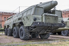 9P120 launcher with a missile 9M76 missile complex 9K76 Stock Image