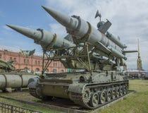 2P24-Launcher (razzo 3M8) missile contraereo 2K11 complesso Fotografia Stock