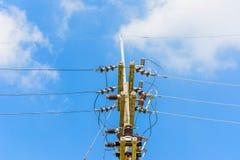 Pôle électrique Image stock