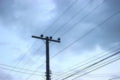 Pôle électrique Image libre de droits