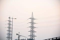 Pôle électrique Photographie stock