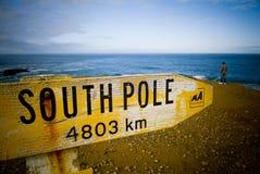 Pôle du sud? Images stock