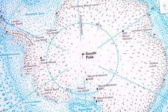 Pôle du sud Images stock