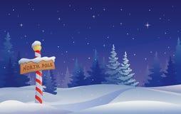 Pôle Nord Image libre de droits