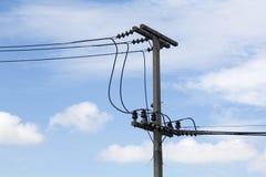 Pôles électriques Photo stock