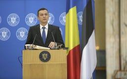 P.M. Sorin Grindeanu Foto de archivo