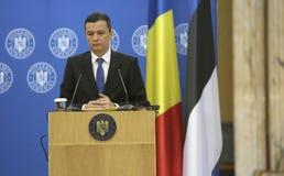 P.M. Sorin Grindeanu Foto de archivo libre de regalías