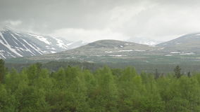 1080p, Mountain Range, Oppland, Norway Stock Image