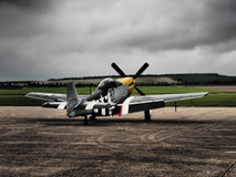 P51 Mustang aircraft Stock Images