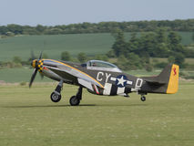 P51 Mustang aircraft Stock Photography