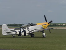 P51 Mustang aircraft Royalty Free Stock Images