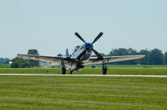 P51 Mustang Army Air Corps Fighter Royalty Free Stock Image