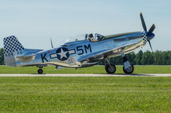 P51 Mustang Army Air Corps Fighter Royalty Free Stock Images