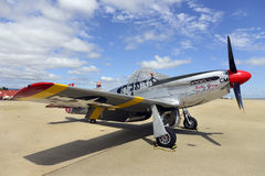 P51 Mustang Fighter Royalty Free Stock Image