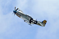 P51 mustang Stock Photography