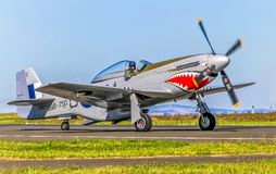 P-51 Mustang stock photography