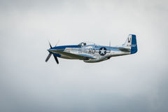 P51 Mustang Vintage Aircraft Royalty Free Stock Photography