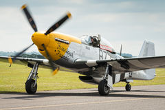 P51 Mustang Vintage Aircraft Stock Images