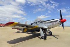 P51 Mustangvechter Royalty-vrije Stock Afbeelding