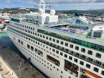 P&O Aurora Cruise Ship image stock