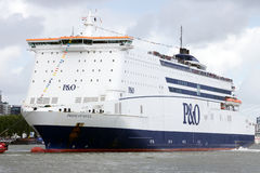 P&O Ferries Stock Photography