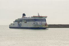 P&O ferry Stock Photo