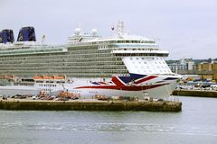 P&O MV Britannia Royalty Free Stock Images