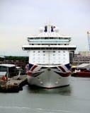 P&O MV Britannia Stock Image