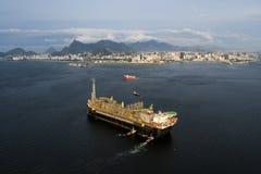 P67 Oil Platform stock photography
