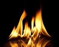 Płomienia blask Zdjęcie Stock