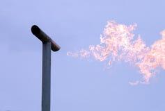 płomienia gaz Fotografia Stock