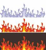 płomienia wektor Zdjęcie Stock