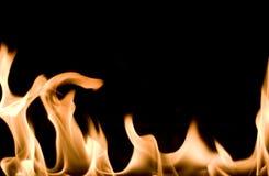 płomienie Zdjęcie Royalty Free
