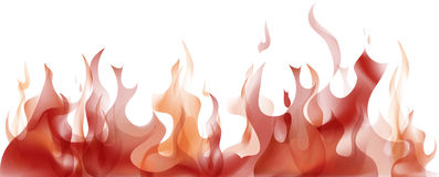 płomienie Royalty Ilustracja