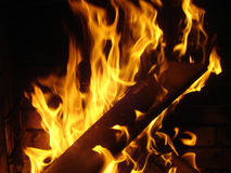 płomienie fotografia royalty free