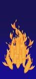 Płomienny koja Zdjęcia Royalty Free