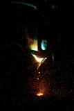 płonie czerwieni iskier target1367_1_ Zdjęcie Royalty Free