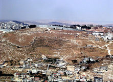 płotowa 2005 ochrona Jerusalem zdjęcie stock